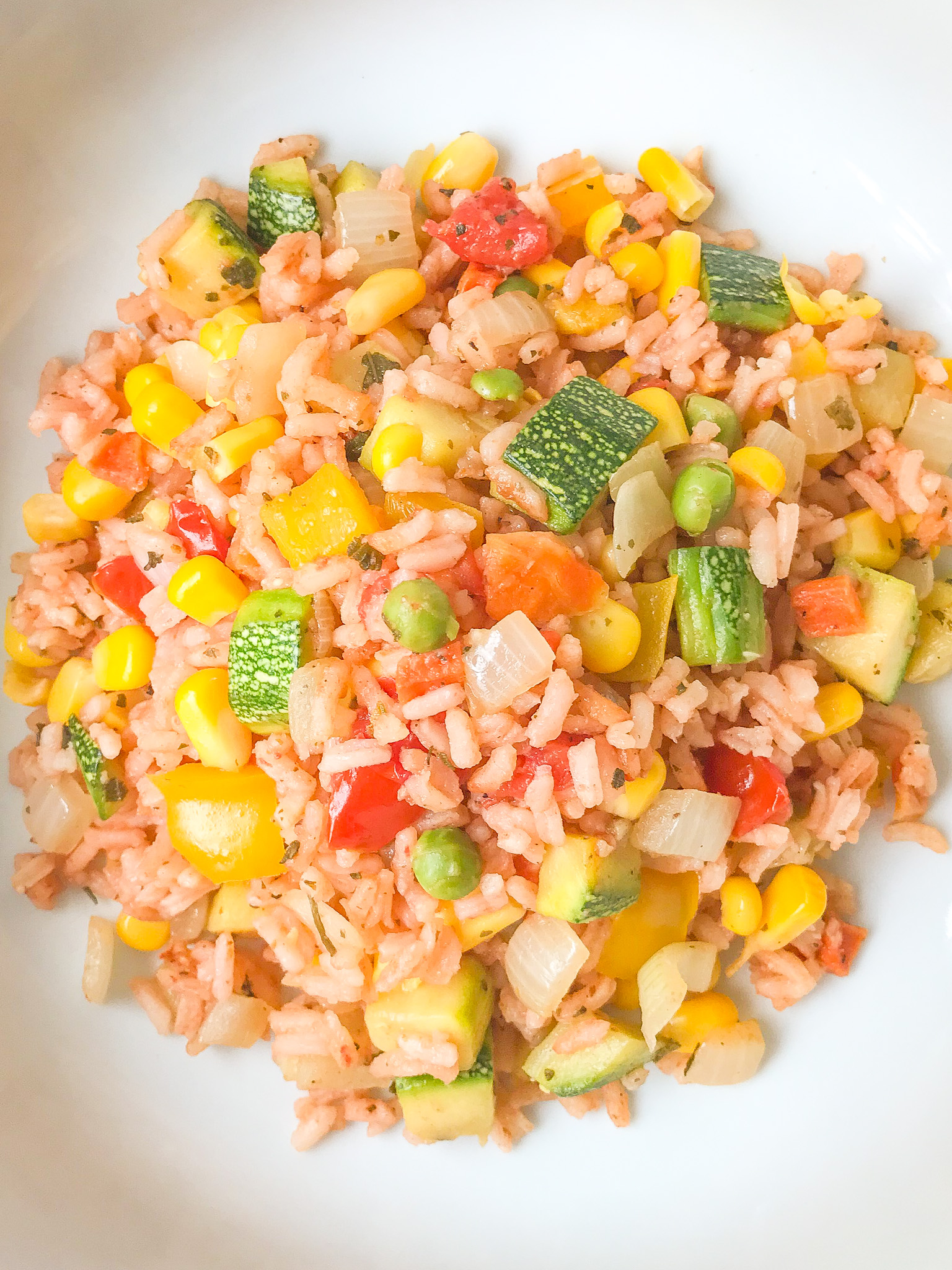 Vegetarian Mexican Skillet Meal