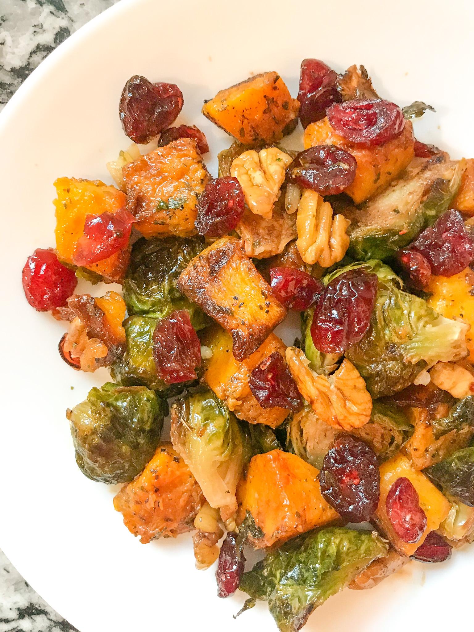Autumn Roasted Veggies